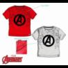 Camiseta Avengers Marvel 4Und. T. 4-6-8-10