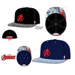 Gorra Avengers Marvel Hip Hop Visera Plana T.52-54