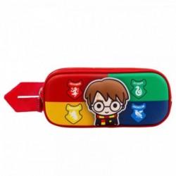 Portatodo 3D Harry Potter Doble 10x22,5x7cm.