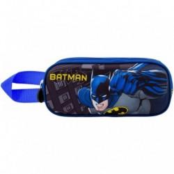 Portatodo 3D Batman Doble 10x22,5x7cm.