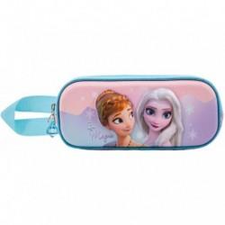 Portatodo 3D Frozen Disney Doble 10x22,5x7cm.