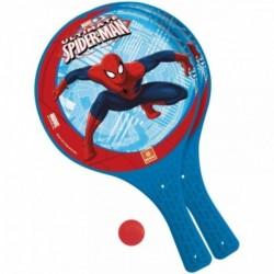 Palas + Pelota Spiderman Marvel 22cm.