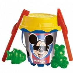 Cubo Mickey Disney Con Castillo Y Moldes