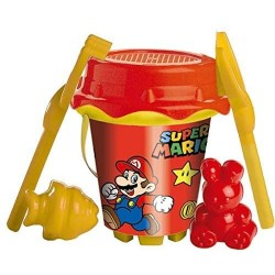 Cubo Super Mario Con Castillo Y Moldes
