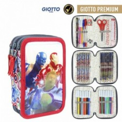 Plumier Giotto Avengers Marvel Triple 12,5x19,5x6,5cm.