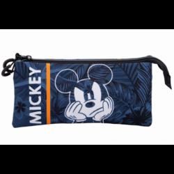 Portatodo Triple Mickey Disney 11x23x5cm.