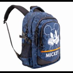 Mochila Running Mickey Disney 44x30x17cm.
