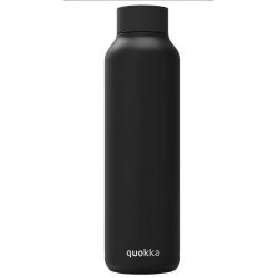 Botella Acero Inoxidable Jet Black Quokka 630ml
