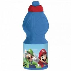 Botella Plastico Super mario 400 ML.