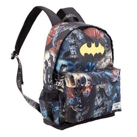 Mochila Batman Adaptable 45x37x15cm.