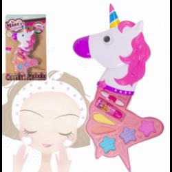 Estuche Infantil De Maquillaje Forma De Unicornio