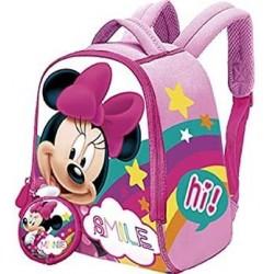 Mochila Neopreno + Minnie Disney Monedero 22x18 cm