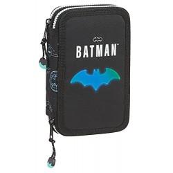 Plumier Batman Doble 12x4x19cm.