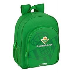 Mochila Escolar Junior Real Betis Adaptable 32x12x38cm