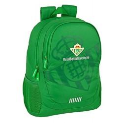 Mochila Junior Real Betis Adaptable 32x16x44cm.