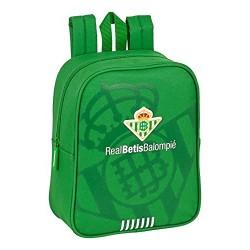 Mochila Guarderia Real Betis Adaptable 22x10x27cm.