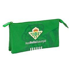 Portatodo Triple Real Betis 22x3x12cm.