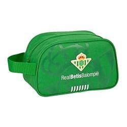 Neceser Un Asa Real Betis Adaptable 26x12x15cm.