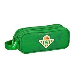 Portatodo Real Betis Doble 21x6x8cm.