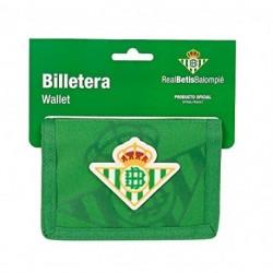 Cartera Billetera Con Cabecera Real Betis 12.5x9.5cm.