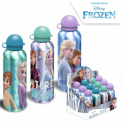 Botella Aluminio Frozen ll Disney 500Ml.