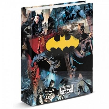 Carpeta A4 Anillas Batman 33x28x5cm.