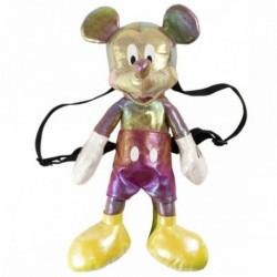Mochila Infantil Peluche Mickey Disney 18x40x15cm.