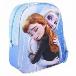 Mochila 3D Infantil Frozen ll Disney 25x31x10cm.