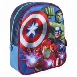 Mochila Avengers Marvel 3D 25x31x10cm