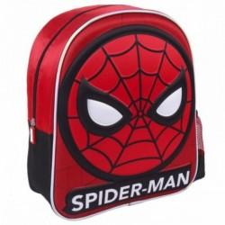 Mochila Spiderman Marvel 3D 25x31x10cm