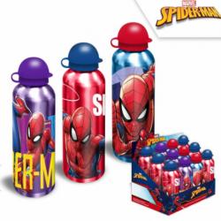 Botella Aluminio Spiderman Marvel 500Ml.