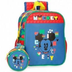 Mochila Guarderia Mickey Disney C/Portachupete