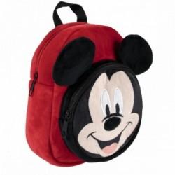 Mochila Peluche Guarderia Mickey Disney 18x22x8cm.