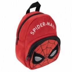 Mochila Peluche Guarderia Spiderman Marvel 18x22x8cm.