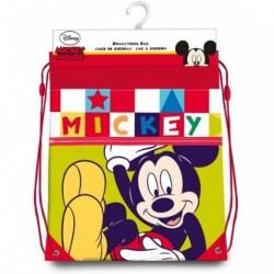 Saco Mochila Mickey Disney 40x30cm.