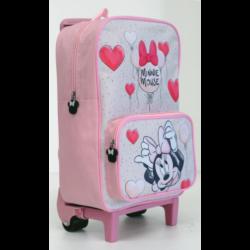 Mochila Carro Minnie Disney 33x22x11cm.