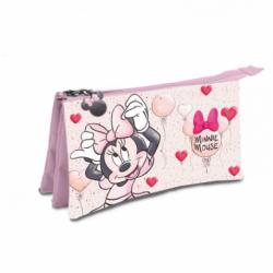 Portatodo Triple Minnie Disney 22x14x3.5cm.