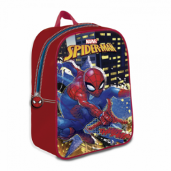 Mochila 3D Spiderman Marvel 24x29x9.5cm.