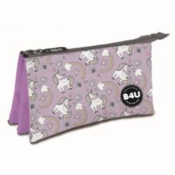 Portatodo Triple Unicornio Bags 22x14x3.5cm.
