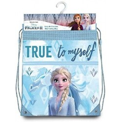 Saco Mochila Frozen ll Disney 40x30cm.