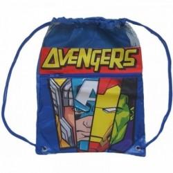 Saco Mochila Avengers Marvel 40x30cm.