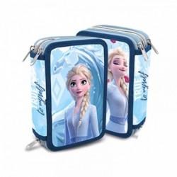 Plumier Frozen Disney ll Triple