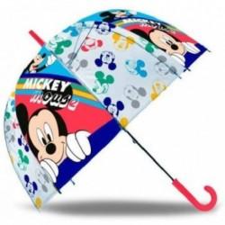 Paragua Automatico Burbuja Mickey Disney 45cm.