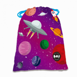 SAQUITO MERENDERO SPACE BAGS FOR YOU 25X20 CMS