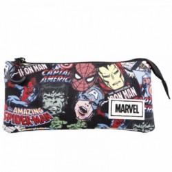 Portatodo Avengers Marvel Triple 11x23.5x5cm.