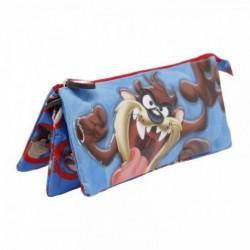 Portatodo Triple Looney Tunes Tasmania 11x23.5x5cm.