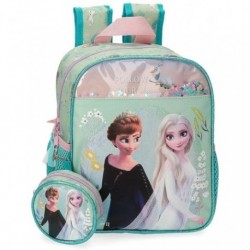 Mochila Guarderia Frozen ll Disney C/Monedero 23x28x10cm