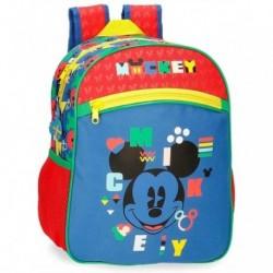 Mochila Mickey Disney 27x33x11cm.