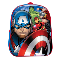 Mochila 3D Avengers Marvel 28cm.