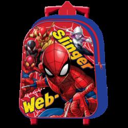 Mochila Trolley Spiderman Marvel 31cm.